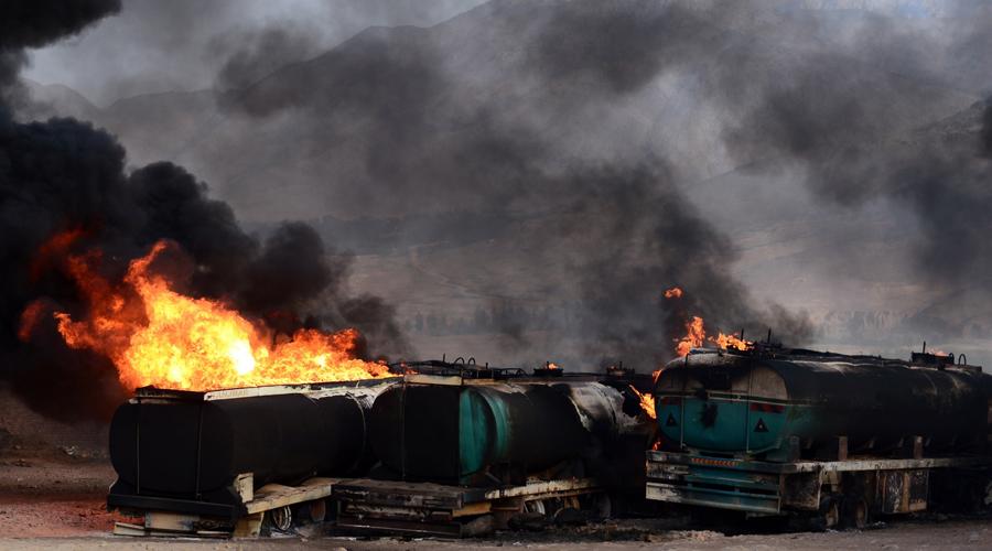 Bus, fuel tanker collision kills 50 in Afghanistan, injures 28
