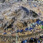 Millions of Muslims gathered at Maidan-e-Arafat for Waqoof