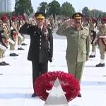 Turkish General Salih Zeki calls on COAS Gen Raheel Sharif