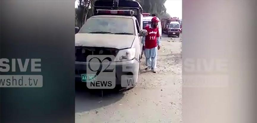Cops among nine injured in IED blast in Charsadda