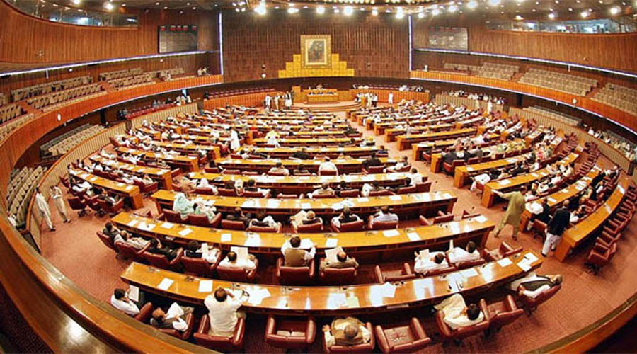Opposition again stages walkout of NA over FATA reforms bill