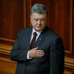 Ukraine's Poroshenko says tougher to secure Western support against Russia