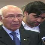 Revoking IWT to be consider an act of war against Pakistan: Sartaj Aziz