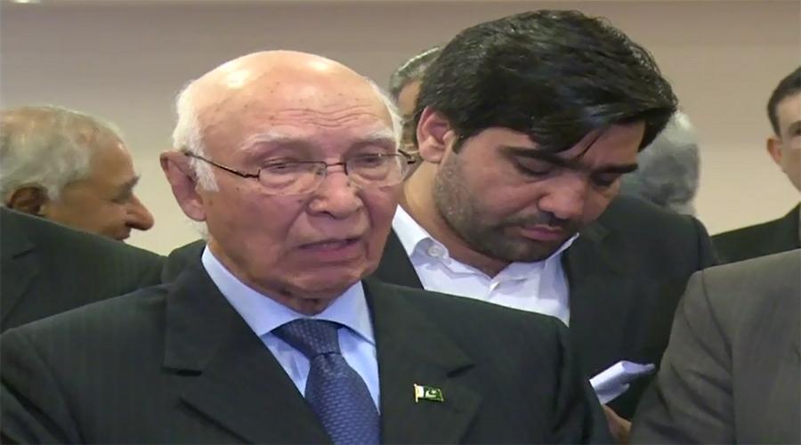 Kashmiris' independence movement can't be suppressed: Sartaj Aziz