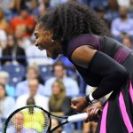 Queen Serena downs King, blasting 13 aces indoors