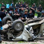 Bomb kills three Thai police officers in southern ambush