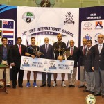 Egyptian Zahed Mohamed wins CNS International Squash Championship title