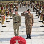 UK CGS Gen Nicholas Patrick Carter calls on COAS Gen Raheel Sharif