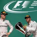 Hamilton cuts Rosberg's F1 lead with 50th win