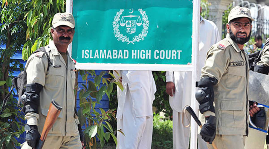 IHC orders govt, PTI not to lock down Islamabad