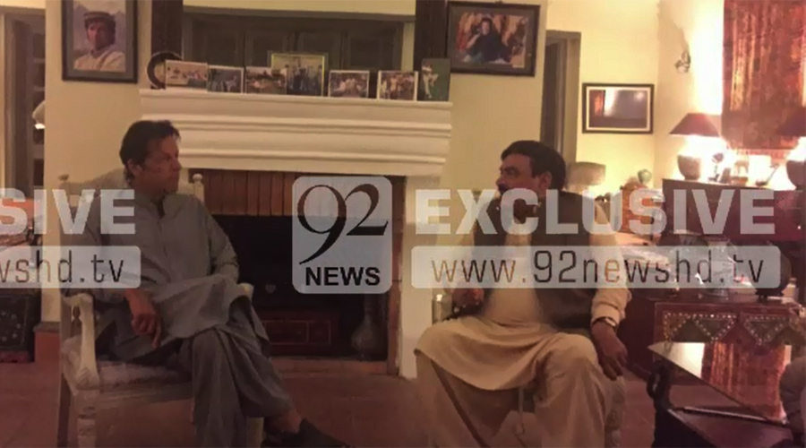 Sh Rashid, Imran Khan discuss Islamabad lockdown plan