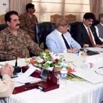Civil, military leadership meets; discusses NAP