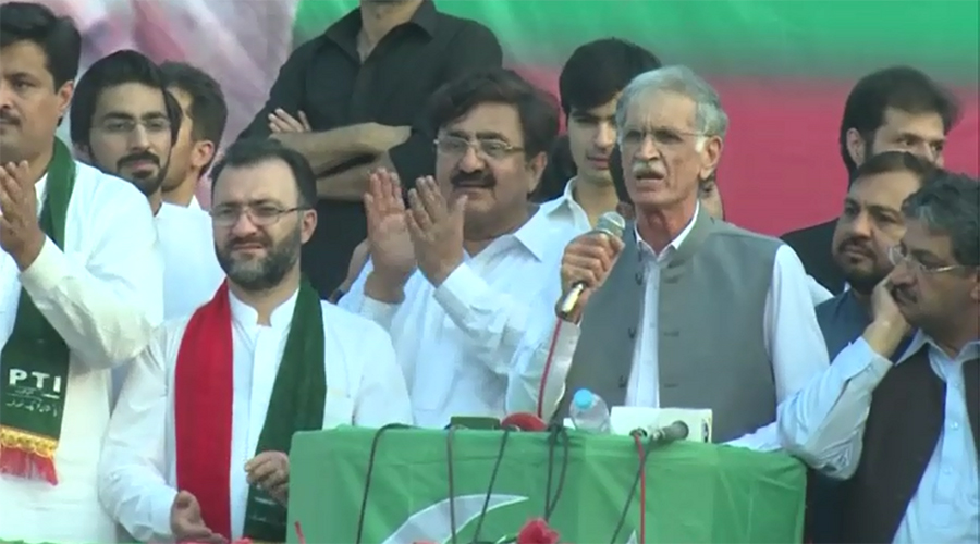 Youth must join Imran Khan in fight against corrupt mafia: Pervaiz Khattak