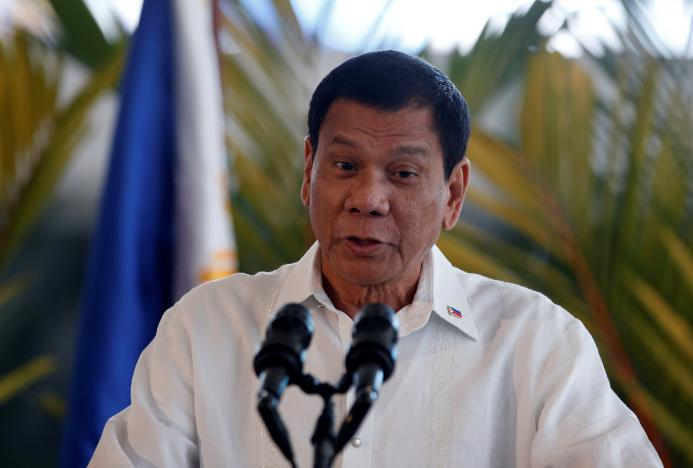 Trust ratings of Philippines' Duterte fall slightly, poll shows