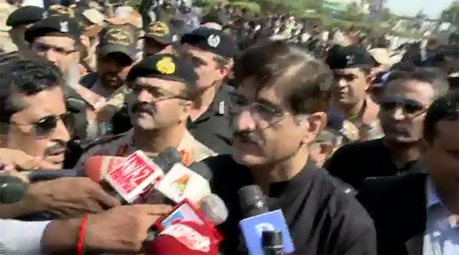 Law enforcement agencies played great role despite terror threats: Sindh CM