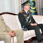 CJCSC General Rashad Mahmood calls on Turkish General Staff in Ankara
