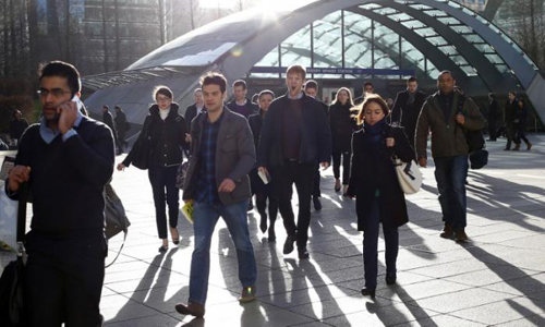 UK job growth slows but labour market withstanding Brexit shock - ONS