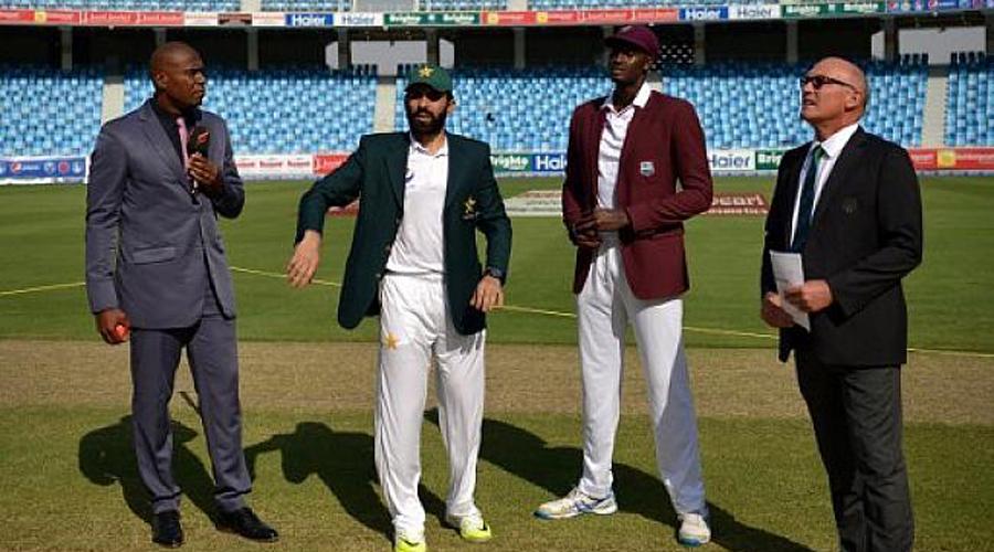 Pakistan win toss, elect to bat against West Indies