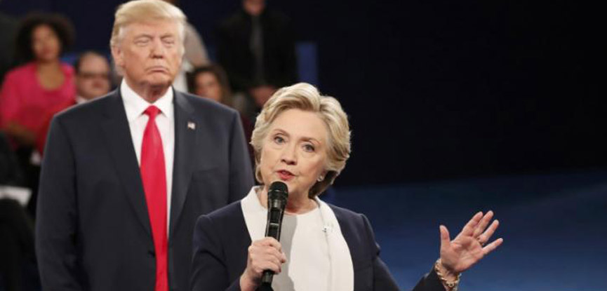 Trump vs. Clinton: He calls her a devil, she says he abuses women