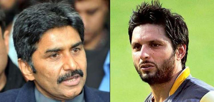 Afridi to send legal notice to legend Javed Miandad