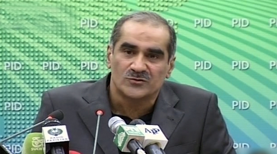 Imran's steps have become a threat to democracy, says Kh Saad Rafique