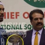 Egyptian player wins COAS Int'l Squash Championship