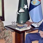 COAS Gen Raheel Sharif pays farewell visit to ISI headquarters