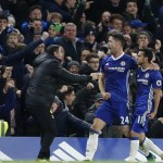 Chelsea stay at the summit, Aguero at the double for Man City