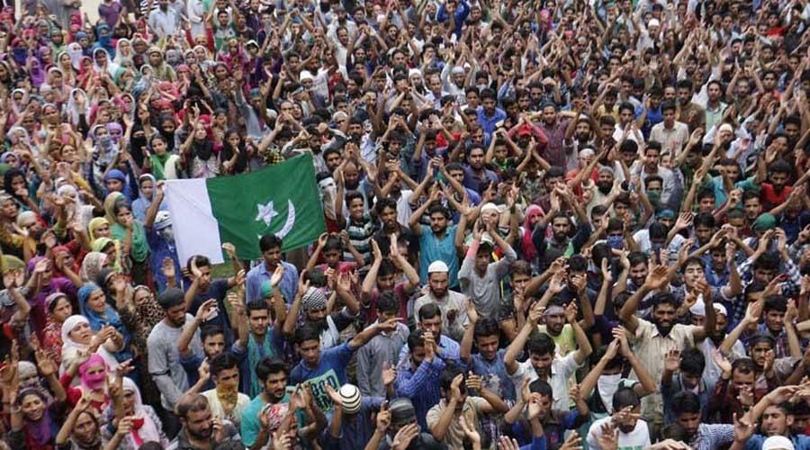 Kashmiris observe Youm-e-Istiqlal in IHK