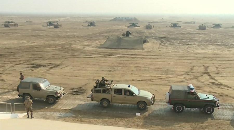 COAS, PM Nawaz witness military drills in Multan