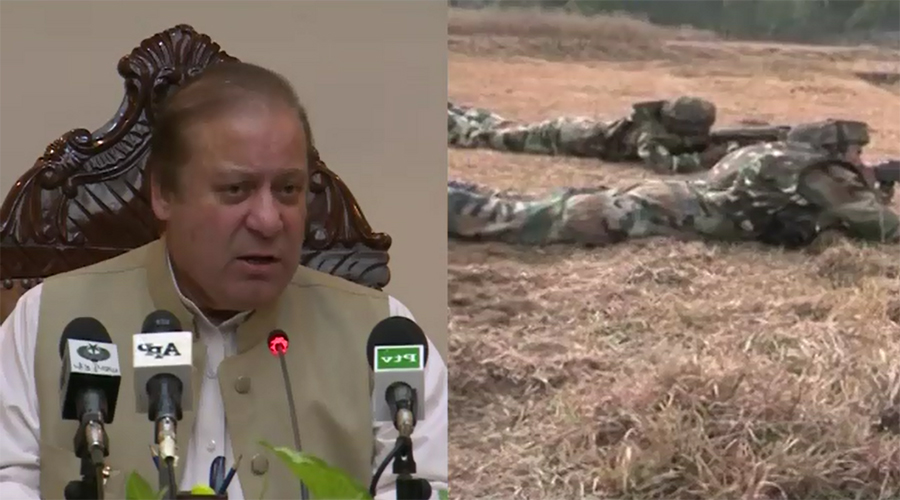 Wish for peace shouldn't be considered our weakness, says PM Nawaz Sharif