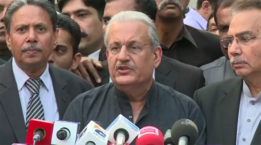 Senate Chairman Raza Rabbani opposes Musharraf's role in politics