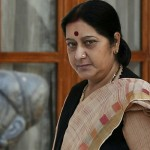 Indian External affairs minister Sushma Swaraj in hospital with kidney failure