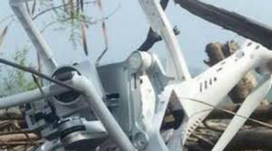 Pak Army shoot down Indian drone in Rakhchakri Sector
