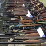 23 alleged terrorists held, weapons cache recovered in Peshawar