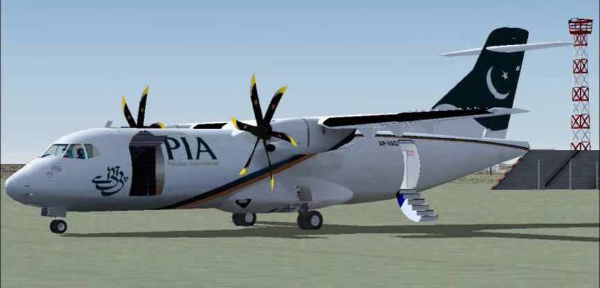 Another PIA's ATR aircraft catches fire