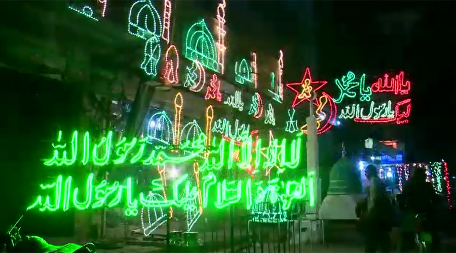 Preparations in full swing to celebrate Eid Miladun Nabi (PBUH) with religious fervour