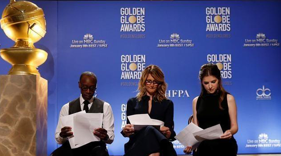 Out with old, in with new television shows at Golden Globes