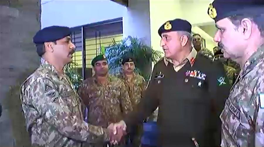 COAS General Qamar Javed Bajwa visits ISPR