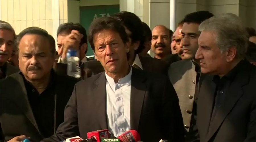 Imran Khan once again demands resignation of PM Nawaz Sharif