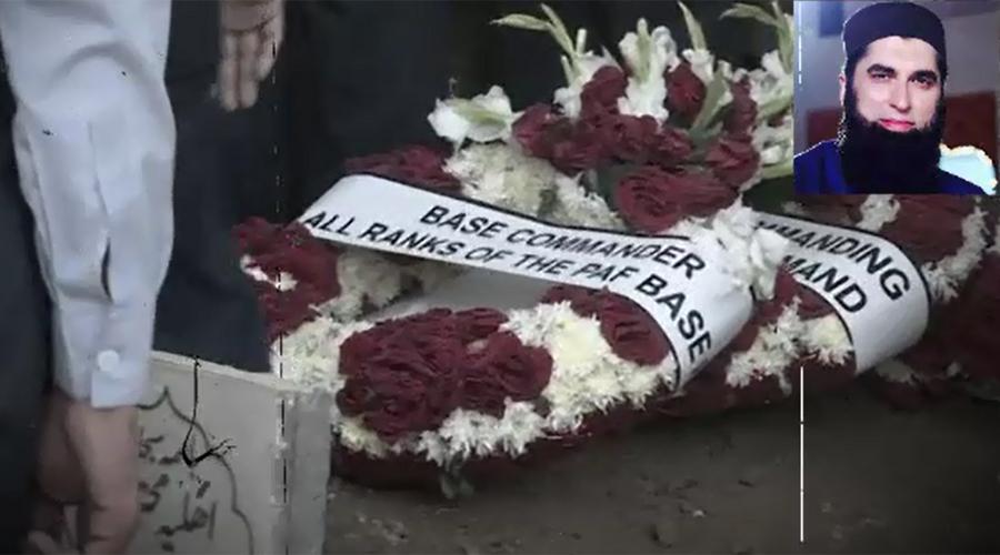 Renowned Naat Khwan Junaid Jamshed laid to rest in Korangi Darul Aloom