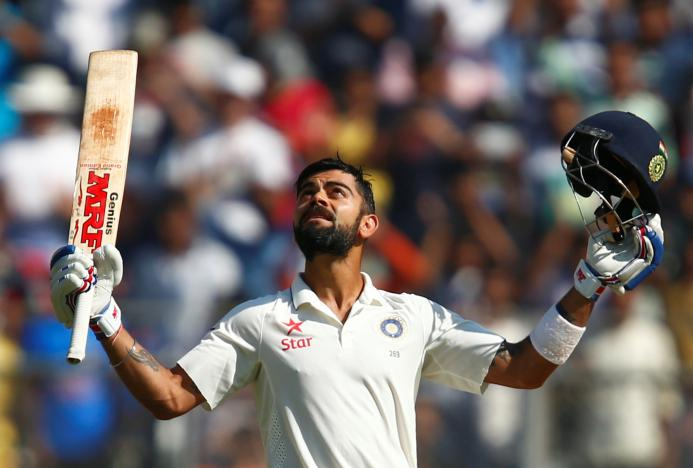Kohli follows in Tendulkar's footsteps
