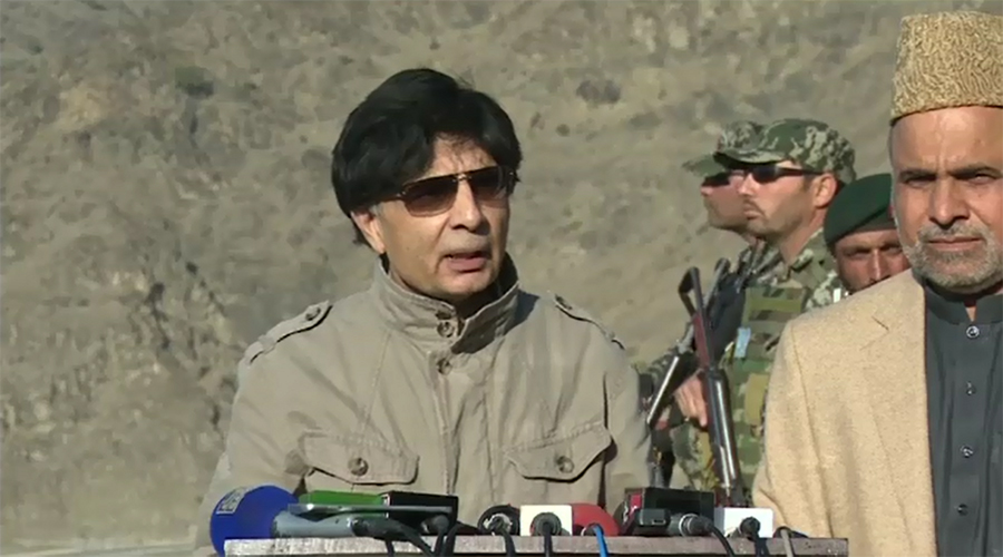 No network of terrorism in Pakistan, says Ch Nisar