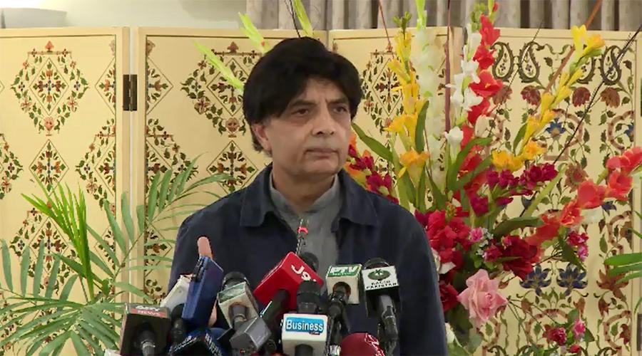 Ch Nisar says no deal for return of Asif Zardari