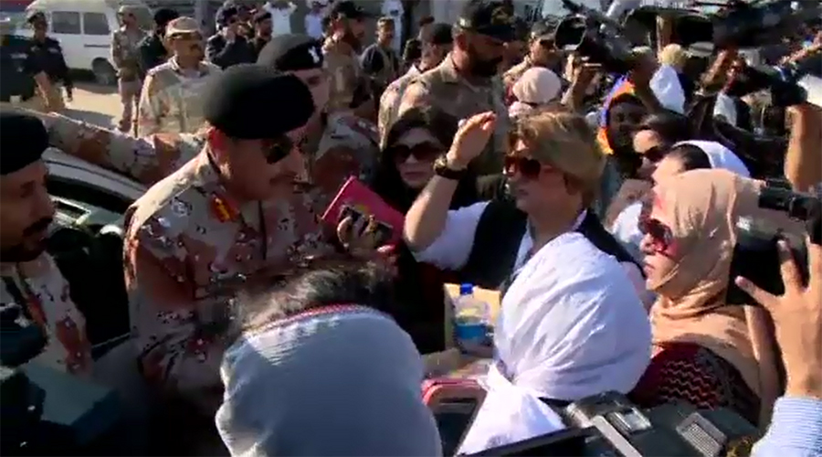 Several held as police baton charge MQM London workers in Karachi