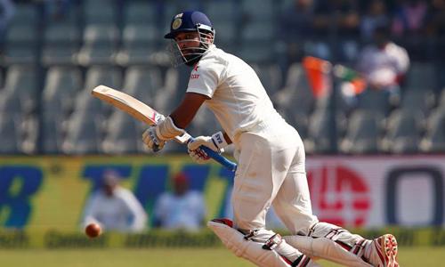 Vijay hits hundred as India march towards England's 400