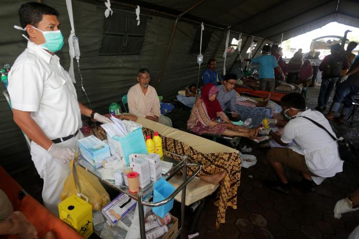 Over 50 dead, dozens missing after quake hits Indonesia's Aceh