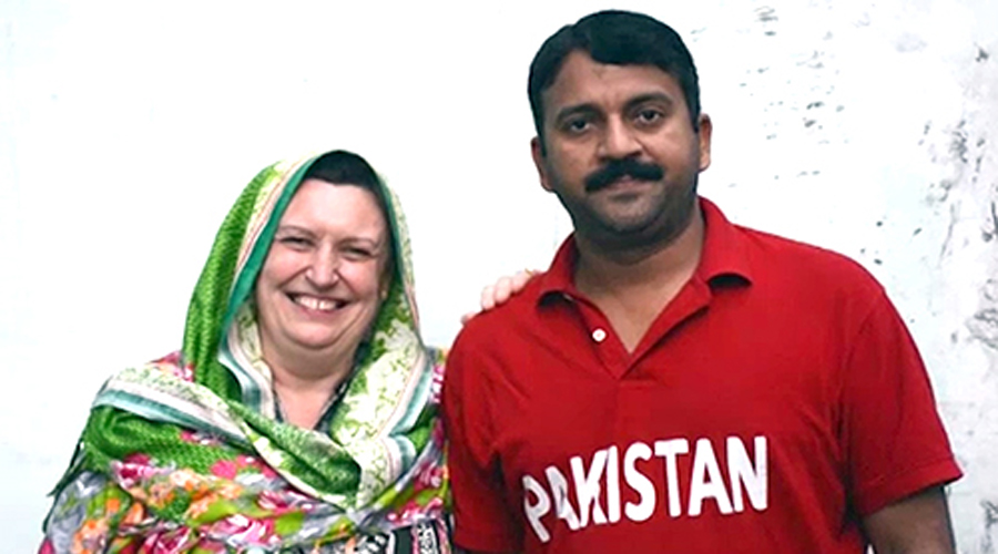 French woman arrives in Khanpur to marry Pakistani man