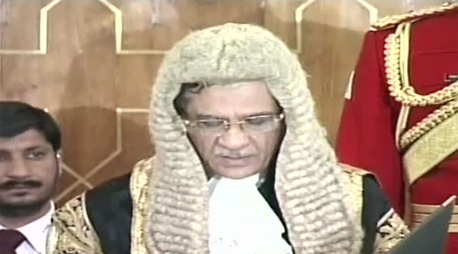 Justice Saqib Nisar takes oath as Chief Justice