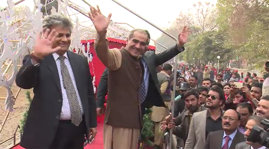 Railways Minister Kh Saad Rafique inaugurates first-ever Christmas Train